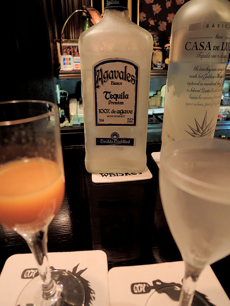 Agavales Tequila with Sangrita