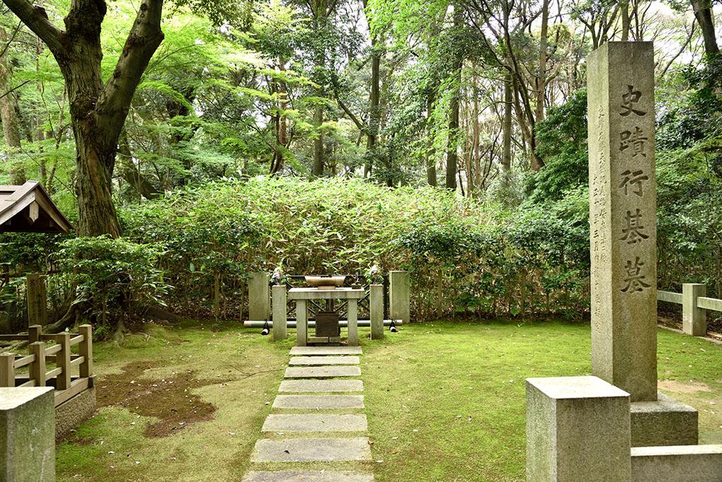 行基の墓所
