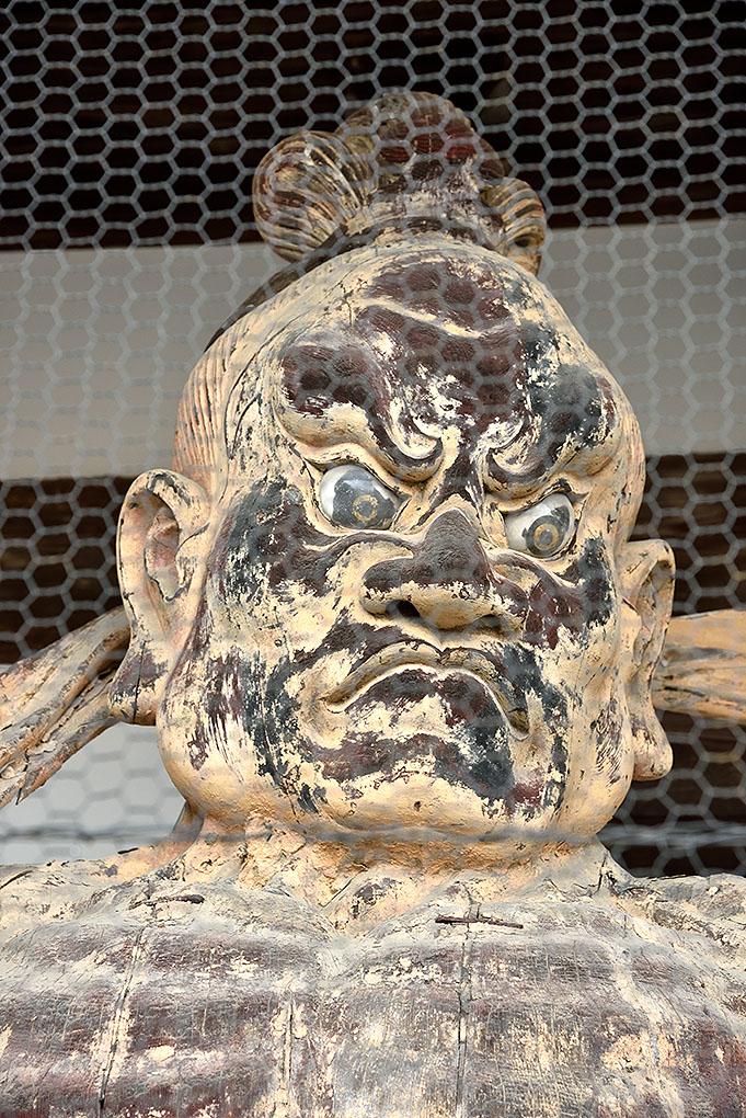 當麻寺の吽形像