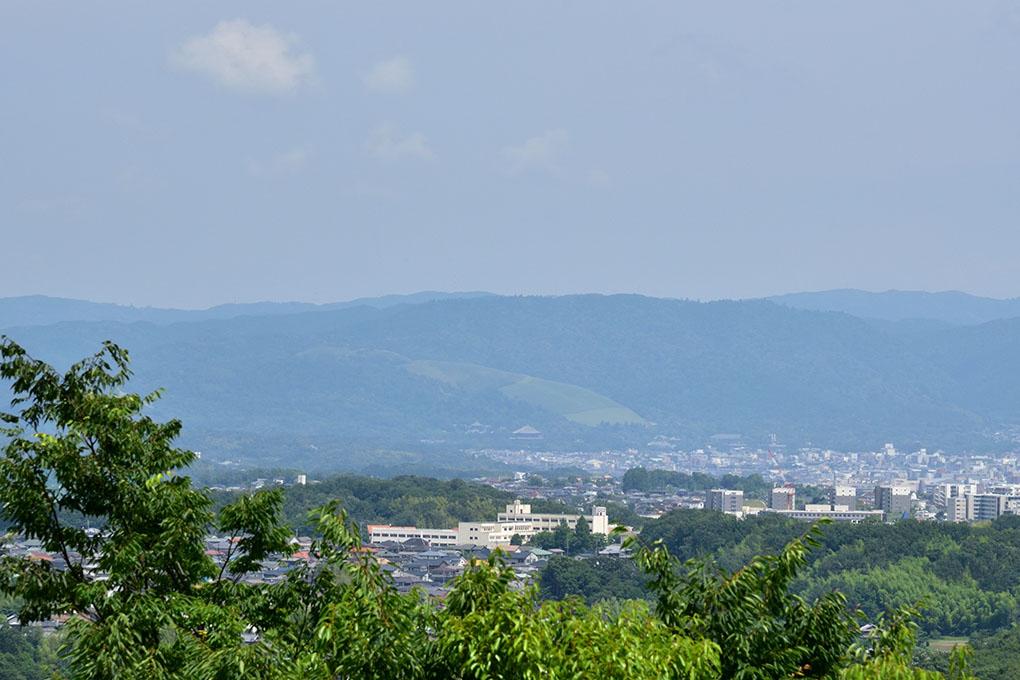 若草山と東大寺