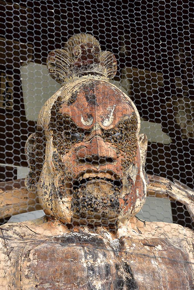 當麻寺の阿形像